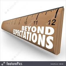 signs and info beyond expectations ruler exceed results great job beyond expectations ruler exceed results great job