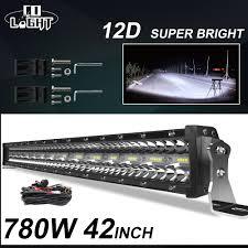 "13"" <b>Super Bright</b> Slim <b>LED</b> Light Bar 200W <b>Car</b> SUV <b>High Power</b> ..."