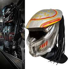 Alien Vs. Predator Mask with Dreads Hair Airsoft ... - Amazon.com