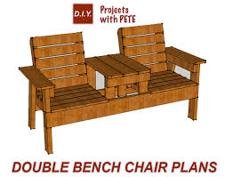 double chair bench with table double bench diy double white double patio youve free patio patio chairs patio furniture backyard buy diy patio furniture