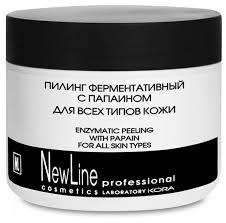 NewLine ферментативный <b>пилинг с папаином</b> для всех типов кожи