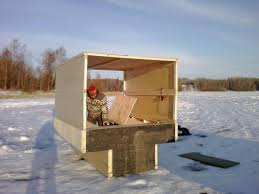 Home Built Ice Hut   can I see your designs I built this one last year  just finished a wood stove for it I cant wait till ice is a little thicker