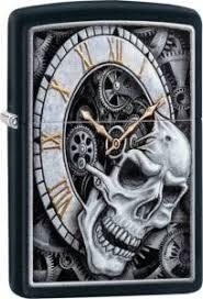 <b>Зажигалка Zippo Skull Clock</b> Design (29854) купить по цене 882 ...