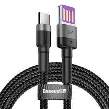 Купить кабель <b>Baseus Cafule HW</b> (CATKLF-PG1) USB/USB Type C ...