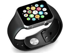 Rock <b>A1</b> Black <b>Color</b>, 4G Calling Smartwatch (Black <b>Strap</b>, Free)