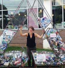 Weaver Brothers Volvo Diana Nelson Jones39 Walkabout Recycling Sculpture Drives Home A