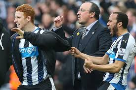 Image result for newcastle benitez and players
