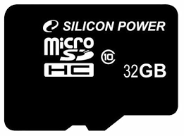<b>Карта памяти</b> Silicon Power microSDHC <b>32GB</b> Class 10 — купить ...