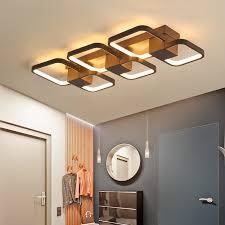 <b>Brown Modern LED Chandeliers</b> Frames Combination Creative ...