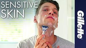 How To Shave Sensitive Skin | <b>Gillette SkinGuard</b> Razor for ...