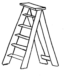 Resultado de imagem para desenhos de escadote