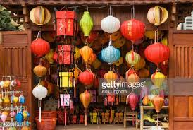 Colourful Paper Lanterns For Sale Vietnam Stock Photo   Getty Images