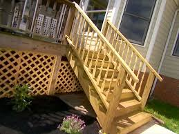patio steps pea size x: how to add stairs to your deck