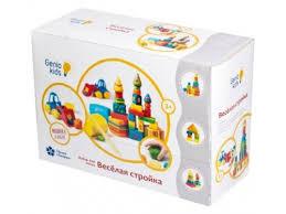 Купить <b>набор</b> для лепки <b>Genio Kids</b> Веселая стройка TA1040 ...