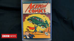 Rare <b>Superman</b> comic sells for record $3.25m - BBC News