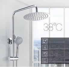 <b>LTENG</b> bath <b>shower</b> set <b>intelligent</b> thermostat control ceramic spool ...