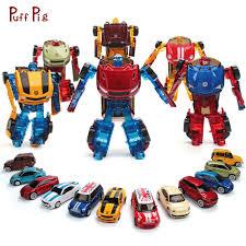 <b>Mini Alloy</b> Transformation Car Action Figures <b>Metal</b> Speed Cars ...
