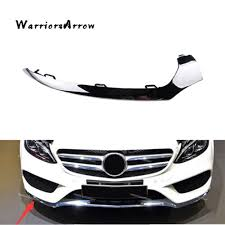 Right Front Bumper Lower Chrome Trim For <b>Mercedes Benz C</b> ...