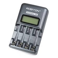 <b>Зарядное устройство Robiton Smart</b> Display 1000 LCD — купить в ...