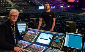 ssl l makes massive andre rieu show a waltz in the park solid ssl l500 at front of house for andre rieu