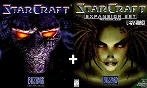 Starcraft + expansion broodwar