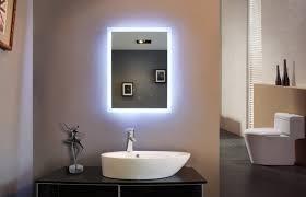 image of bathroom mirror with lights makeup bathroom makeup lighting