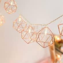 rose gold fairy lights - Amazon.co.uk