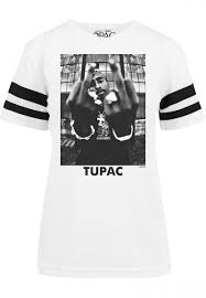 <b>Футболка MISTER TEE</b> Ladies 2Pac Stripes Tee женская (White)