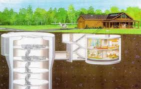 Underground Home Plans and Designs   Natural Security SheltersYour underground home design should include the way you will bring utilities to the house  including water lines  wiring  skylights and ventilation ducts