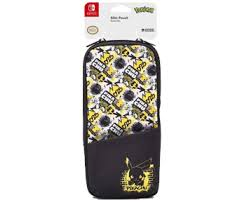 Купить Защитный <b>чехол Hori Slim</b> pouch Pikachu для Switch ...