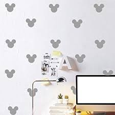 24PCS Cartoon Mickey Mouse Head Wall Sticker ... - Amazon.com