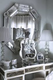 home accents interior decorating: elegant vanity home decor white elegant silver design interior
