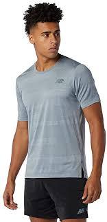 New Balance Men's Q Speed Jacquard Short Sleeve ... - Amazon.com