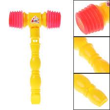 <b>25cm Child Training Toddler</b> Kids HandleHammer Whistle Toys ...