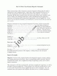 cover letter job objective for a resume good job objective for job objective resume samples