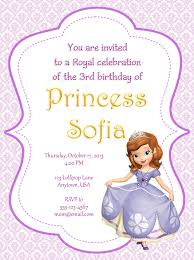 sofia the first party invitations tascachino com sofia the first party invitations and the captivating party invitation templates is very simple and suitable for your invitation 2