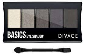 Купить <b>Палетка теней для</b> век <b>Divage</b> Palettes Eye Shadow Basics ...