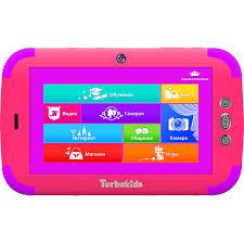 """Купить <b>планшет Turbokids Princess</b> (<b>3G</b>, 16 Гб) 7"""", 16 GB, розовый ..."""