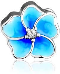 <b>CKK</b> DIY Flower Beads Fits Pandora Bracelet <b>Authentic 925 Sterling</b>
