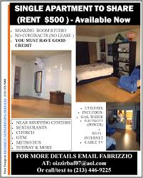 apartment for share diversity news magazine published by single apartment to share rent in hollywood and is available now