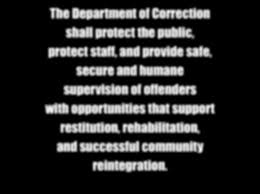 R R A A 2013 Connecticut Department of Correction