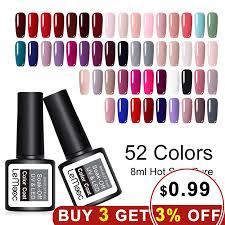 Aliexpress.com : Buy <b>LEMOOC 8ML</b> UV Gel Nail Polish Pure <b>Color</b> ...