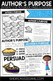 melhores ideias sobre author of the notebook no author s purpose interactive notebook