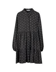 Платье кроя <b>бэби</b>-<b>долл с</b> воланами - PULL&BEAR