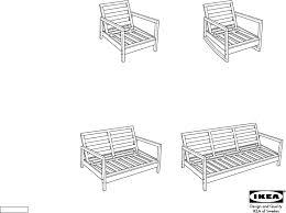 lillberg sofa frame assembling ikea chair