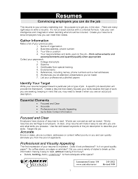 making perfect resume objective essential resume  seangarrette comaking perfect resume objective