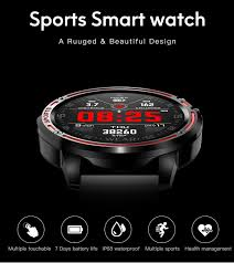 2020 Men Women Smart Watch L8 Heart Rate Verge 2 Amazfit ...