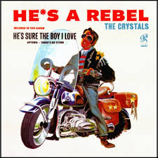 The <b>Crystals He's a</b> Rebel 200g Mono LP