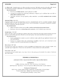 resume for community service worker