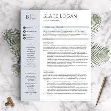 professional resume template the blake landed design solutions professional resume template the blake perfect resume templates 1